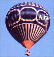 Our first Alba balloon